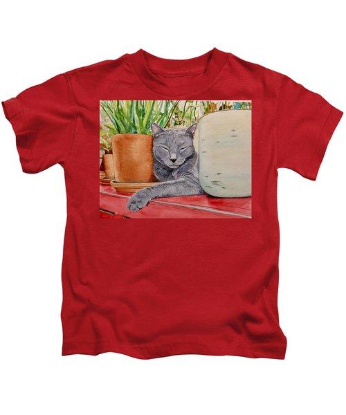 Louie In An Urban Jungle Kids T-Shirt