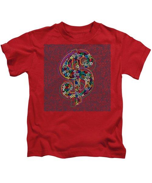 Louis Vuitton Dollar Sign-7 Kids T-Shirt