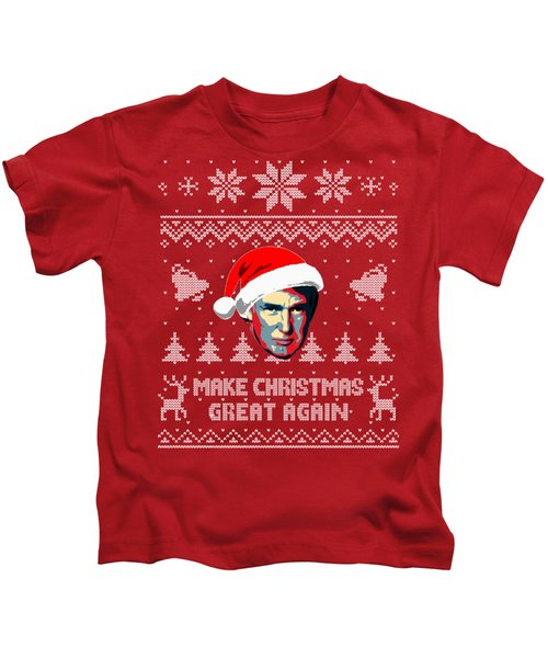 Make Christmas Great Again Kids T-Shirt