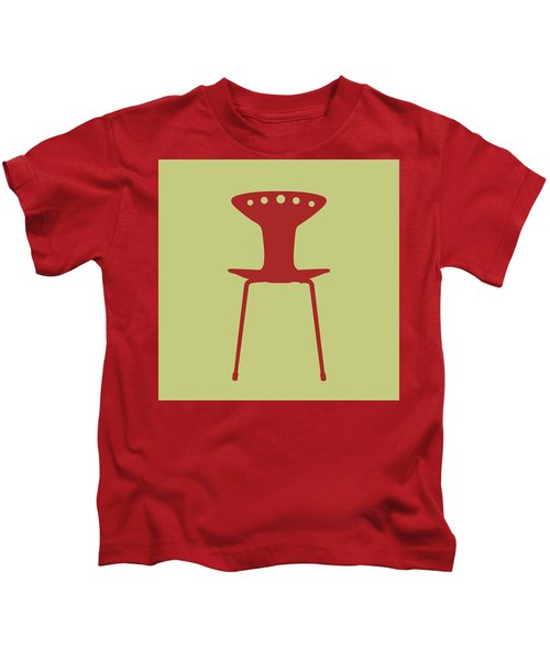 Mid Century Chair I Kids T-Shirt