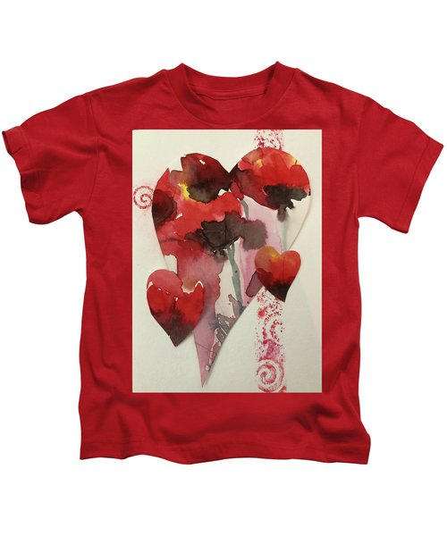 My Valentine Four Kids T-Shirt