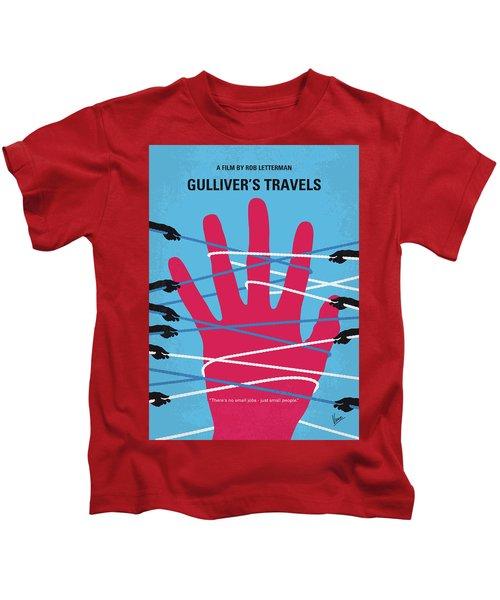 No967 My Gullivers Travels Minimal Movie Poster Kids T-Shirt