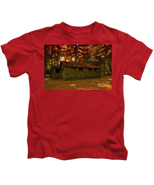 Old Stone Structure Kids T-Shirt