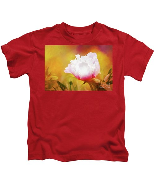 Peony Delight Kids T-Shirt