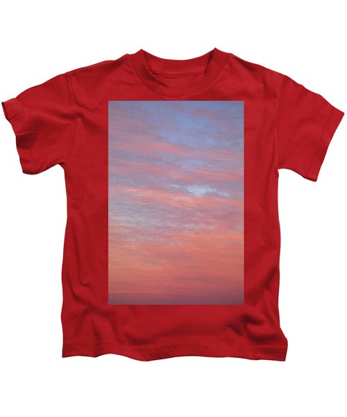 Pink In The Sky Kids T-Shirt