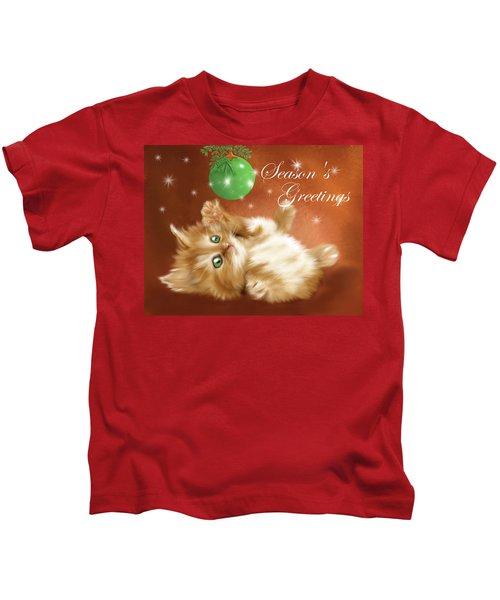 Playful Tabby Kids T-Shirt