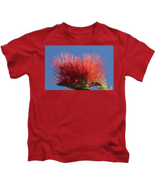 Pohutukawa Flower Kids T-Shirt