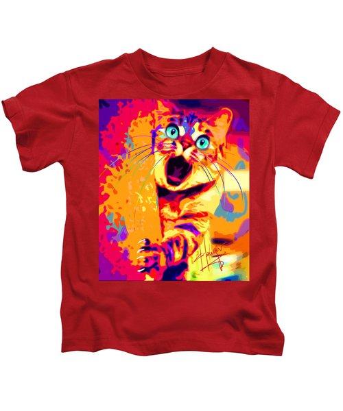 pOpCa PeekaBoots Kids T-Shirt