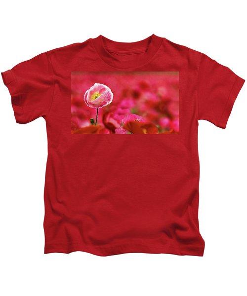 Poppy Standing Tall Kids T-Shirt