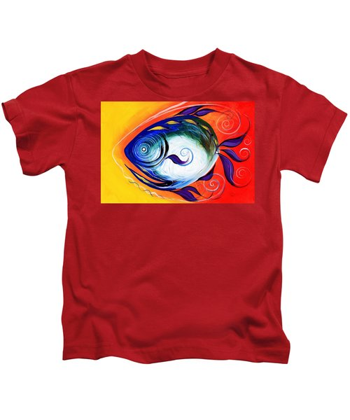 Positive Fish Kids T-Shirt