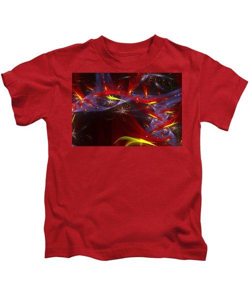 Round And Round Kids T-Shirt