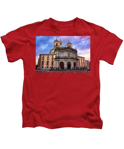 Royal Basilica Of San Francisco El Grande Kids T-Shirt