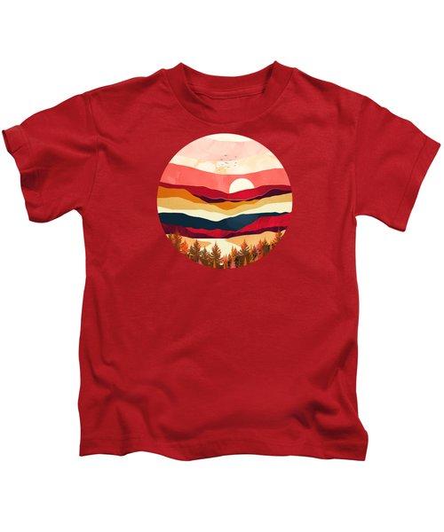 Scarlet Spring Kids T-Shirt
