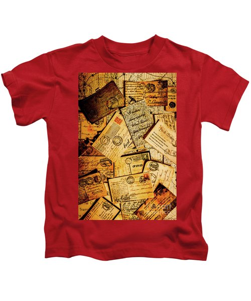 Sentimental Writings Kids T-Shirt