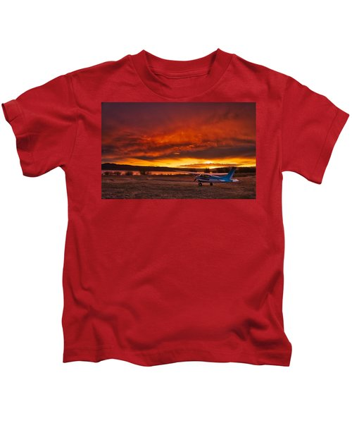 Skylane Sunrise Kids T-Shirt