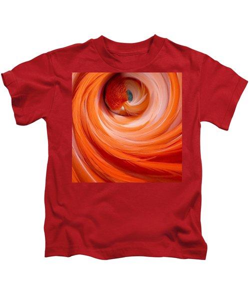 Sleeping Flamingo Kids T-Shirt