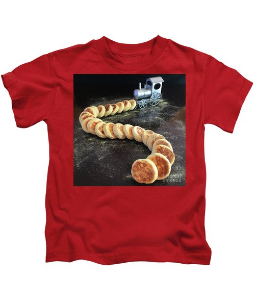 Sourdough English Muffins Kids T-Shirt