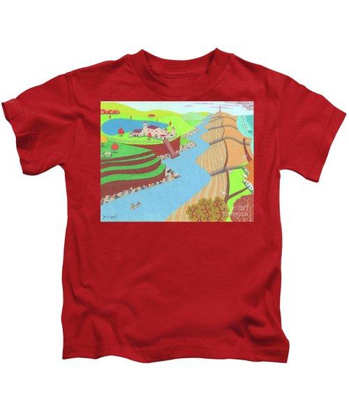 Spanish Wells Kids T-Shirt