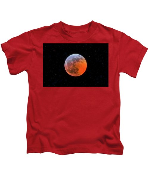 Super Blood Moon Eclipse 2019 Kids T-Shirt