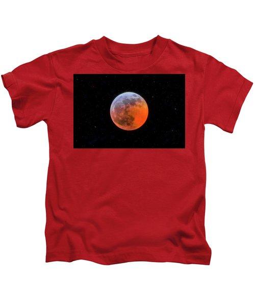 Super Blood Moon Eclipse 2019 Kids T-Shirt