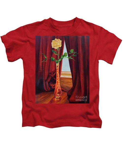 Sweetheart Day's Rose Kids T-Shirt