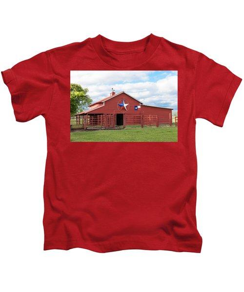 Texas Red Barn Kids T-Shirt