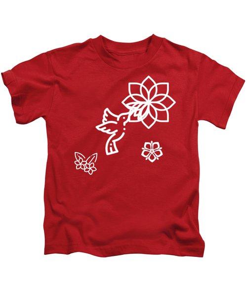 The Kissing Flower On Flower Kids T-Shirt