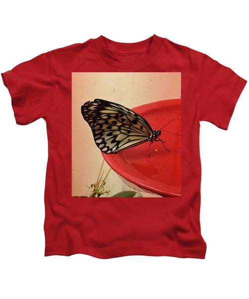 Torn Butterfly Kids T-Shirt