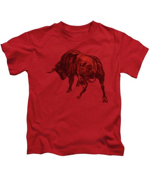 Toro Painting Kids T-Shirt