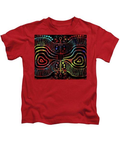 Under The Sea Digital Patterns Of Life Kids T-Shirt