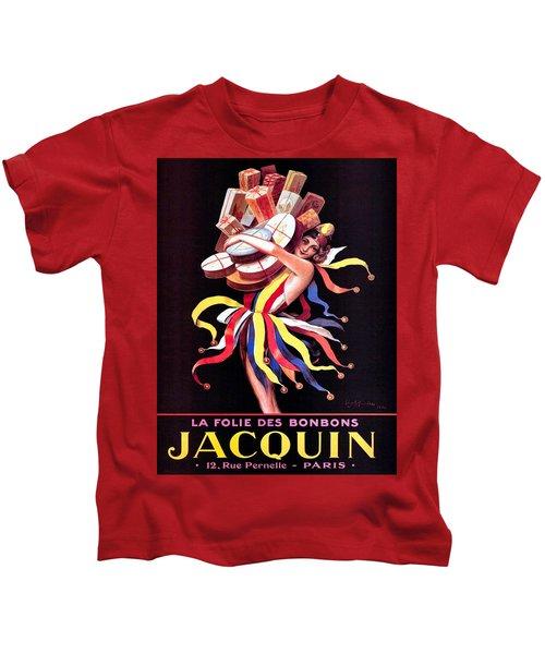 Vintage Poster - Jacquin Kids T-Shirt