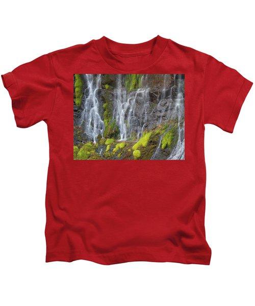 Waterfall Detail Kids T-Shirt