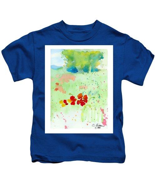 Field Of Flowers Kids T-Shirt