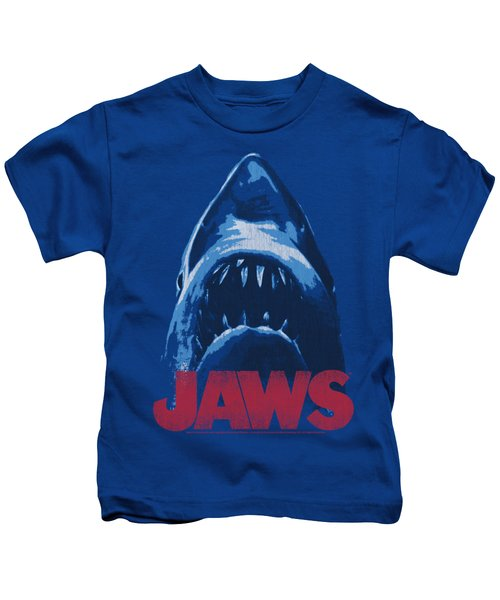 Jaws - From Below Kids T-Shirt by Brand A