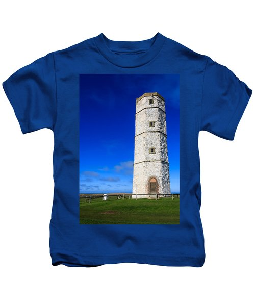 Old Lighthouse Flamborough Kids T-Shirt