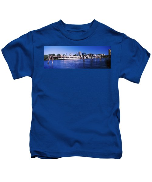 Skyscrapers At The Waterfront, Delta Kids T-Shirt