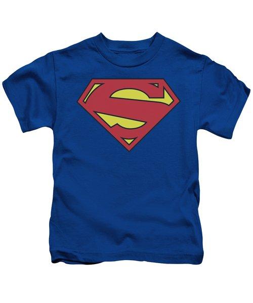 Superman - New 52 Shield Kids T-Shirt