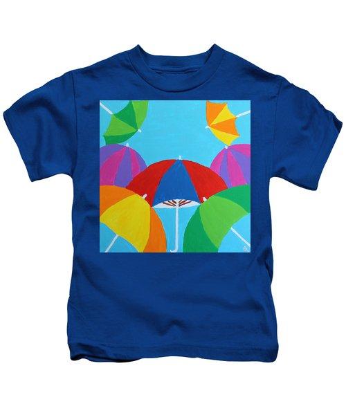 Umbrellas Kids T-Shirt