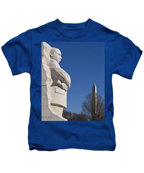 Martin Luther King Jr Memorial Kids T-Shirt