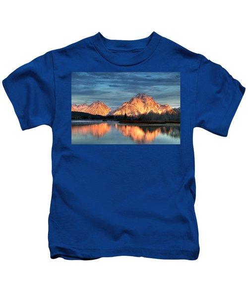Mount Moran Kids T-Shirt