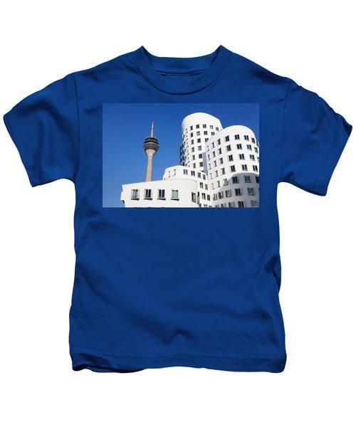 Neuer Zollhof Buildings Designed Kids T-Shirt
