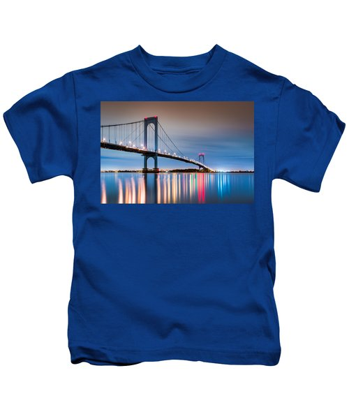 Whitestone Bridge Kids T-Shirt