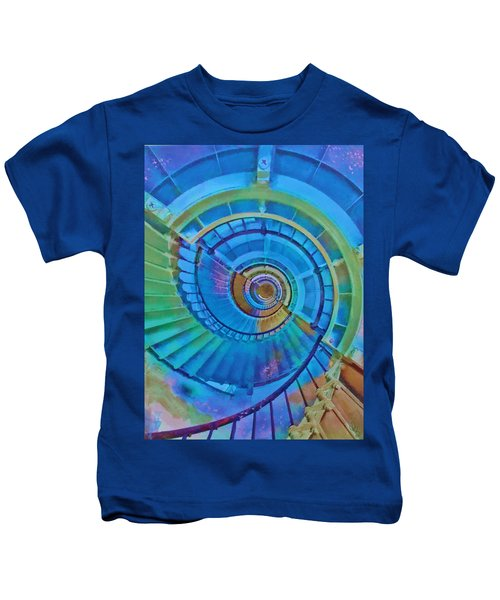 Stairway To Lighthouse Heaven Kids T-Shirt