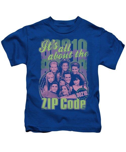 90210 - Zip Code Kids T-Shirt
