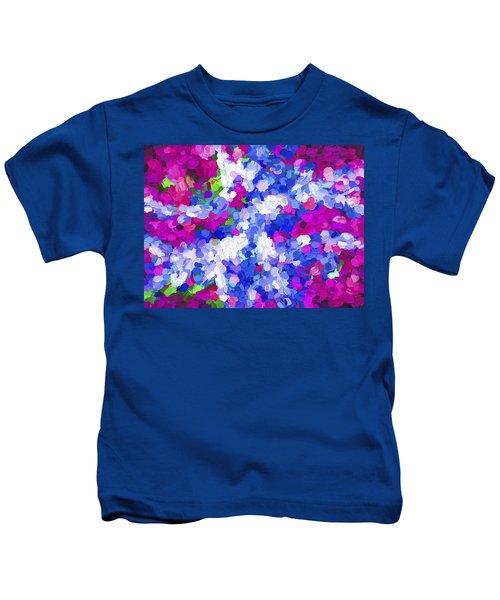 Abstract Artwork 02 Kids T-Shirt