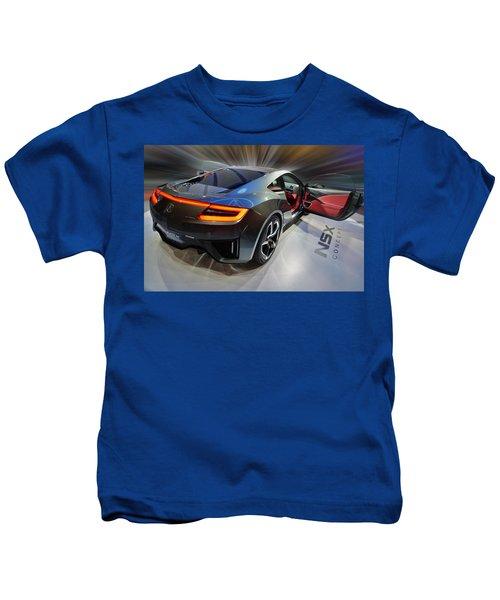 Acura N S X  Concept 2013 Kids T-Shirt
