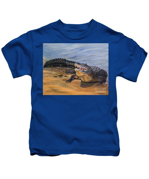 Alligator. Face To Face Kids T-Shirt