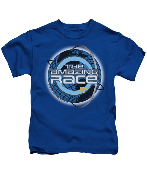 Amazing Race - Around The Globe Kids T-Shirt
