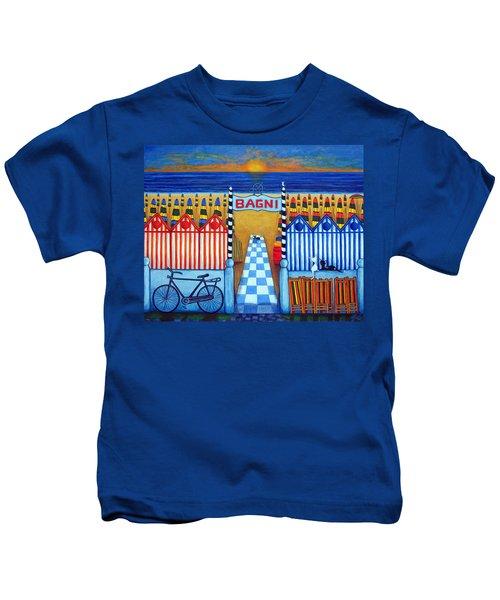 An Italian Summer's End Kids T-Shirt