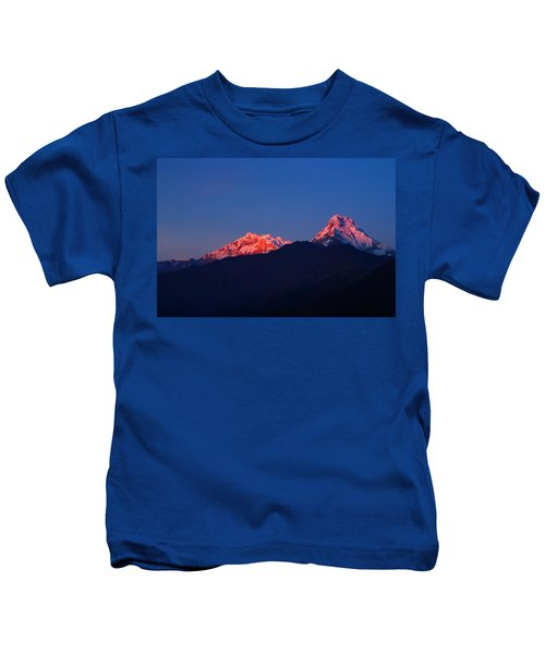 Annapurna South Massif Kids T-Shirt